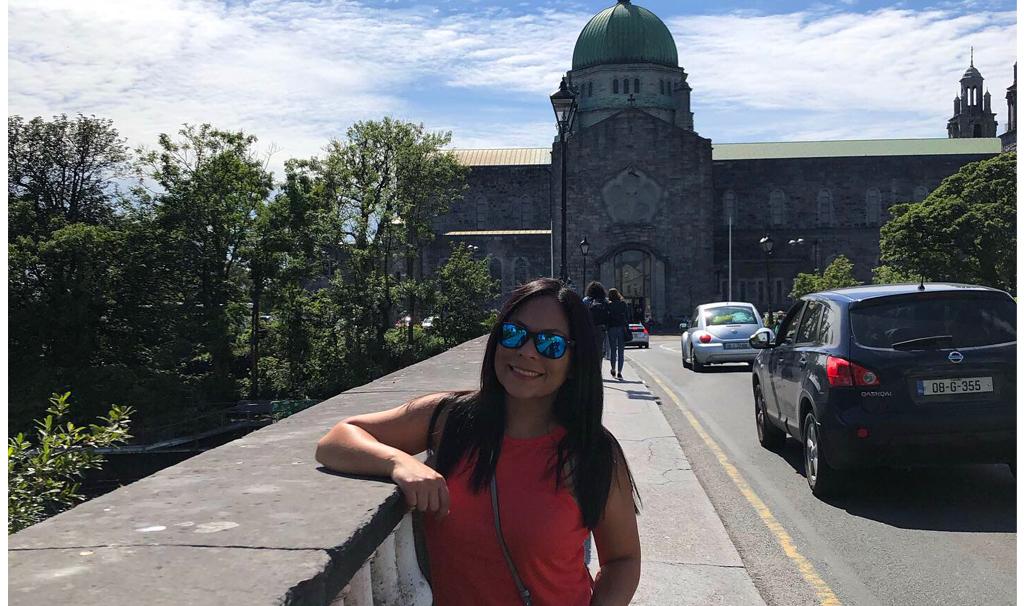 Vanessa: entre el frío de Irlanda y el calor de Puerto Rico