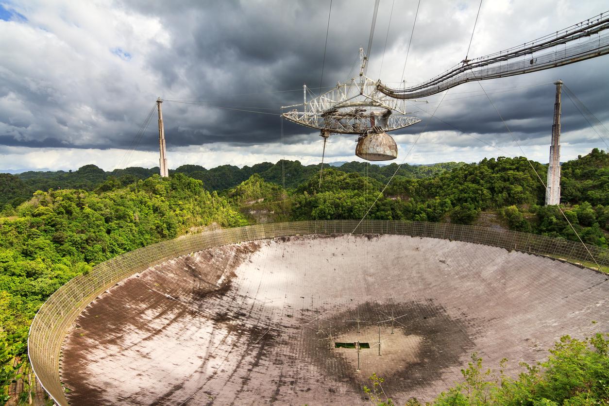 radiotelescopio de Arecibio