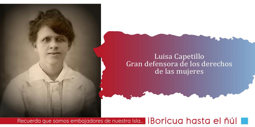 Luisa Capetillo PR ME ENCANTA