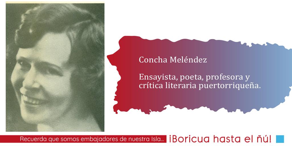Concha Meléndez